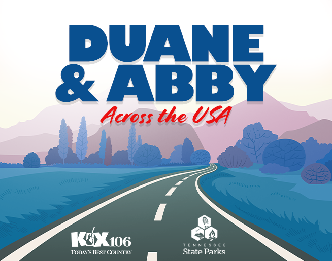 Duane and Abby Across the USA