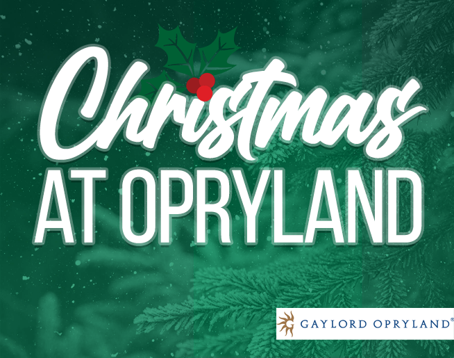 Christmas at Opryland! 🎄