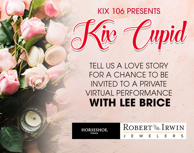 KIX Cupid 2021 – Win A Private Performance from Lee Brice
