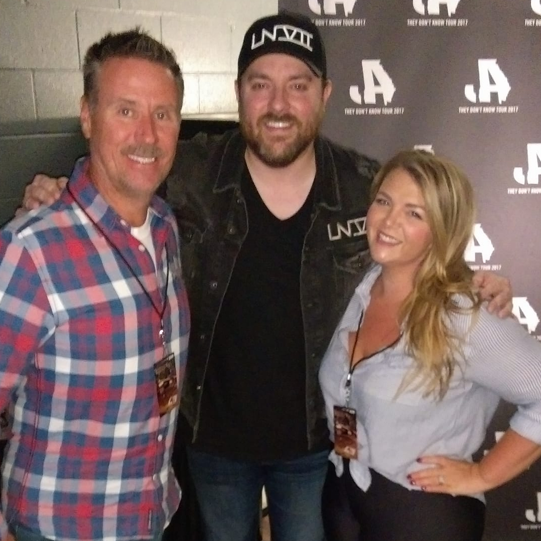Chris Young showed up in Memphis last night! HCT 4/13
