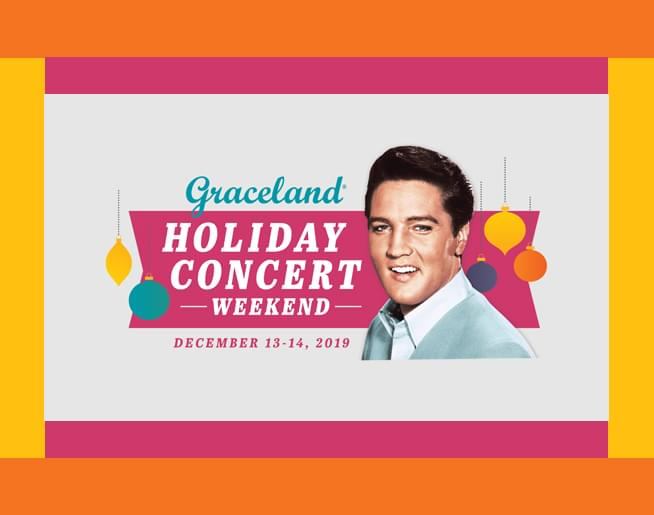 Home for the Holidays with Elvis Concert – Graceland Live