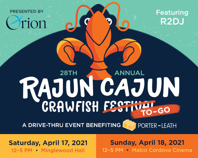 Rajun Cajun Crawfish Festival – benefiting Porter Leath