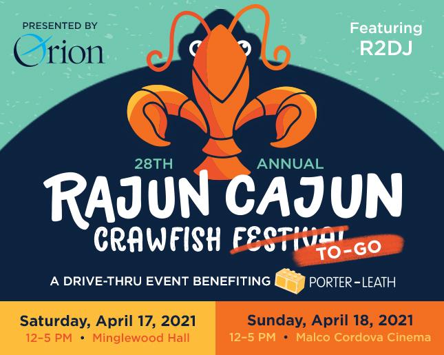 Rajun Cajun Crawfish Festival – benefiting Porter Leath