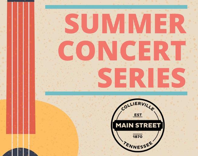 Main Street Collierville – Summer Concert Series