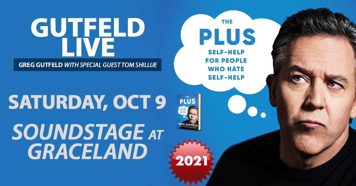 Greg Gutfeld Live at Graceland