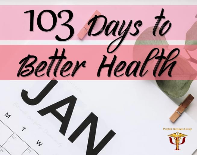 103 Days to Better Health on 103.5 WRBO with Psipher Wellness
