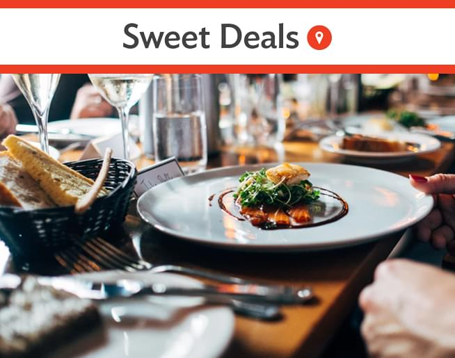 Sweet Deals – Half Off