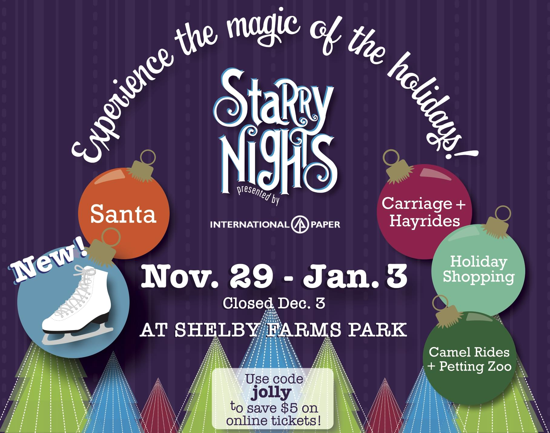 Starry Nights – Shelby Farms Park