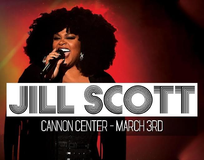 Jill Scott – Cannon Center