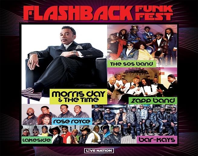 Flashback Funk Fest – Landers Center