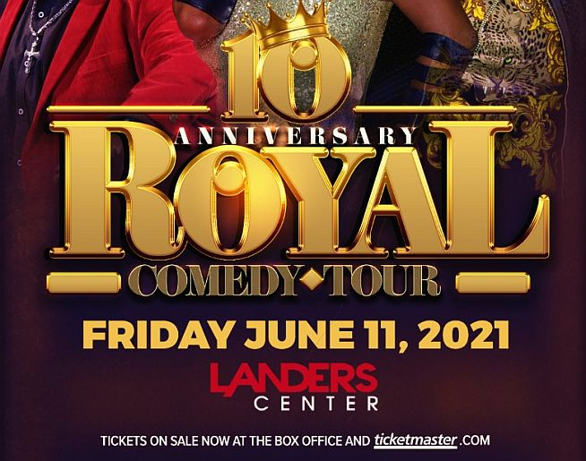 Royal Comedy Tour – Landers Center