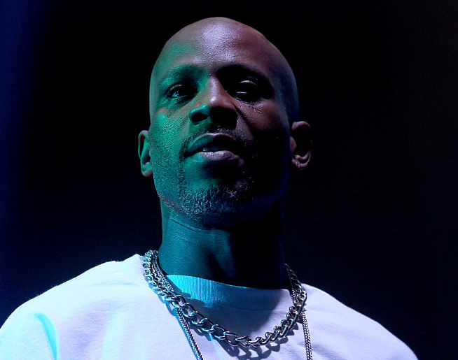 DMX courtesy of Getty Images