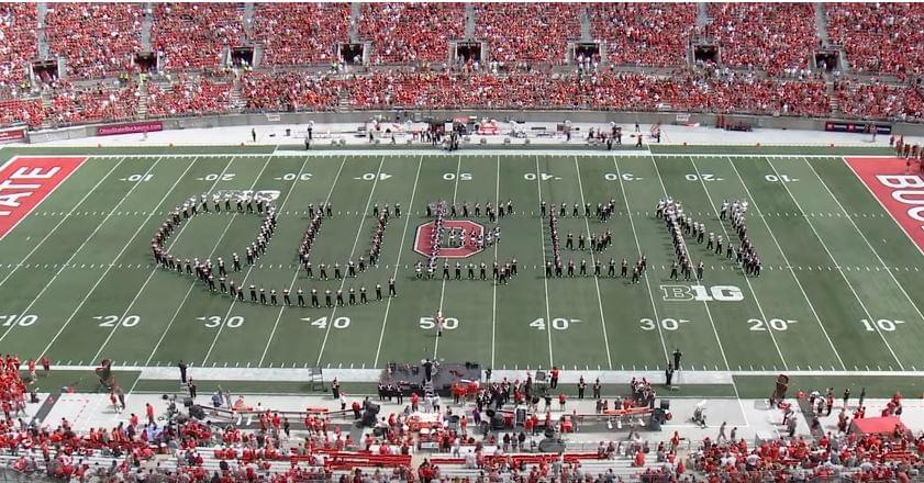 Queen – The Ohio State Marching Band
