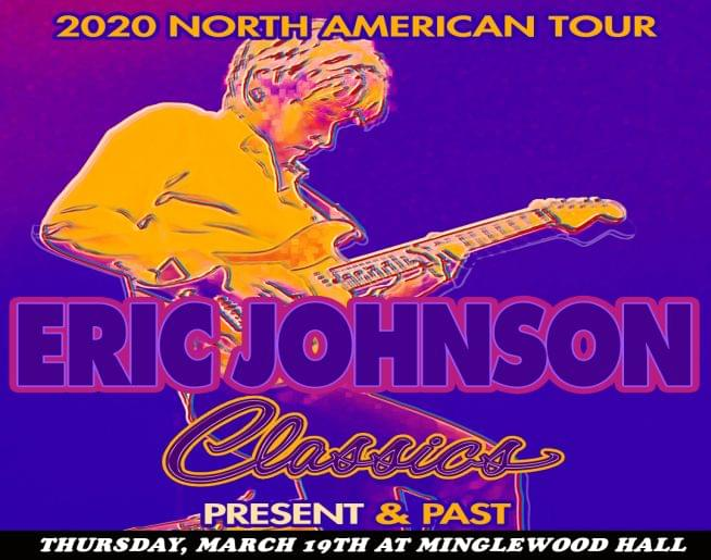 Eric Johnson – Minglewood Hall