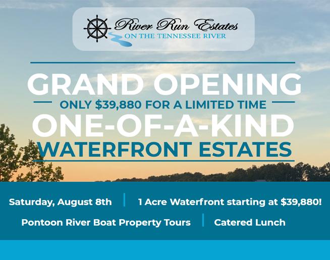 River Run Estates Grand Opening