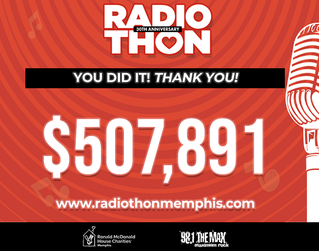 RMHC Memphis Radiothon – 30th Anniversary