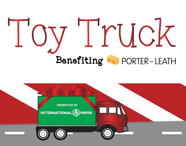 Toy Truck – Benefiting Porter Leath