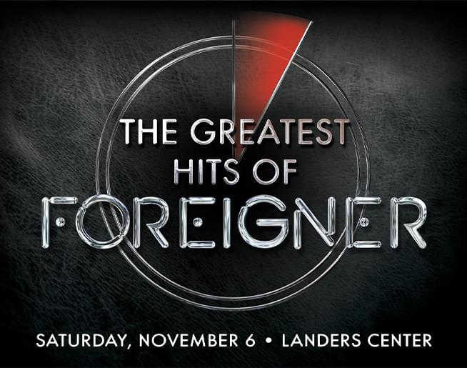 Foreigner – Landers Center