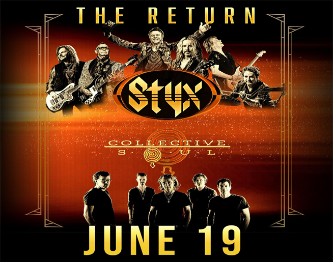 Styx and Collective Soul – Landers Center