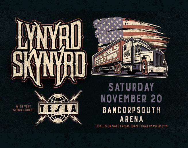 Lynyrd Skynyrd – BancorpSouth Arena in Tupelo
