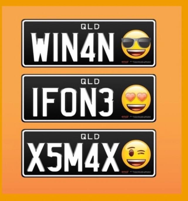 What emoji would YOU put on your license plate?
