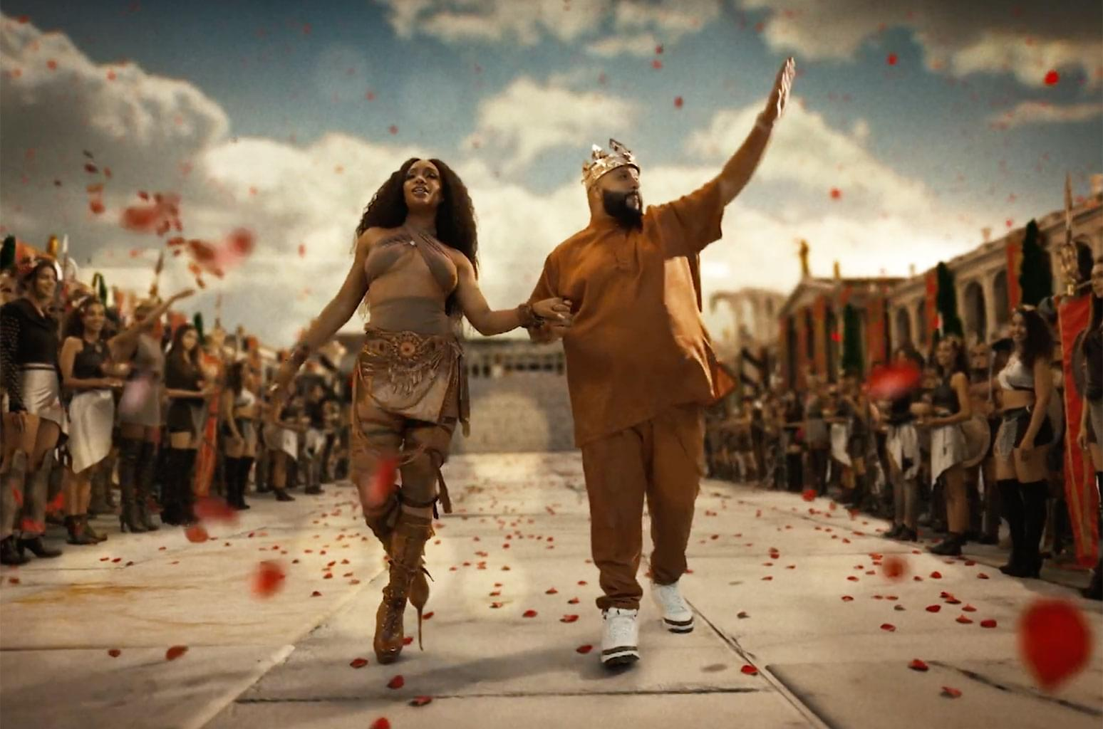 "Brand NEW DJ Khaled & Sza ""Just Us"" *NOTE LANGUAGE"