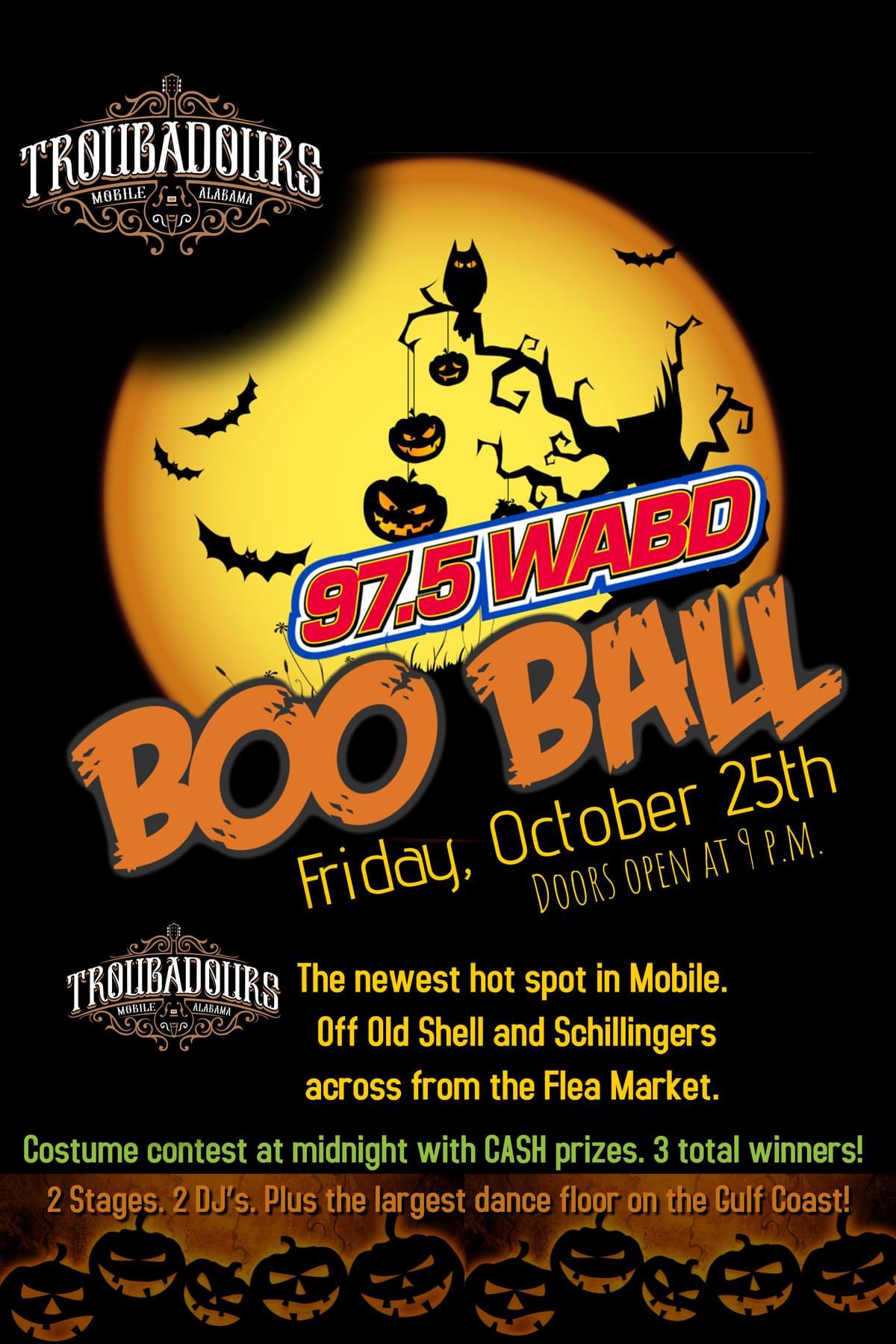 WABD's BOO BALL!