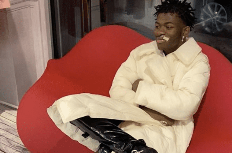 Did Lil Nas X just make a BAND-AID … fashionable?