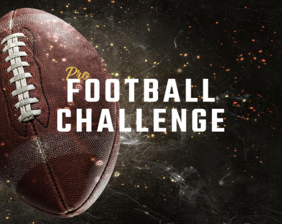 PRO FOOTBALL CHALLENGE!!!