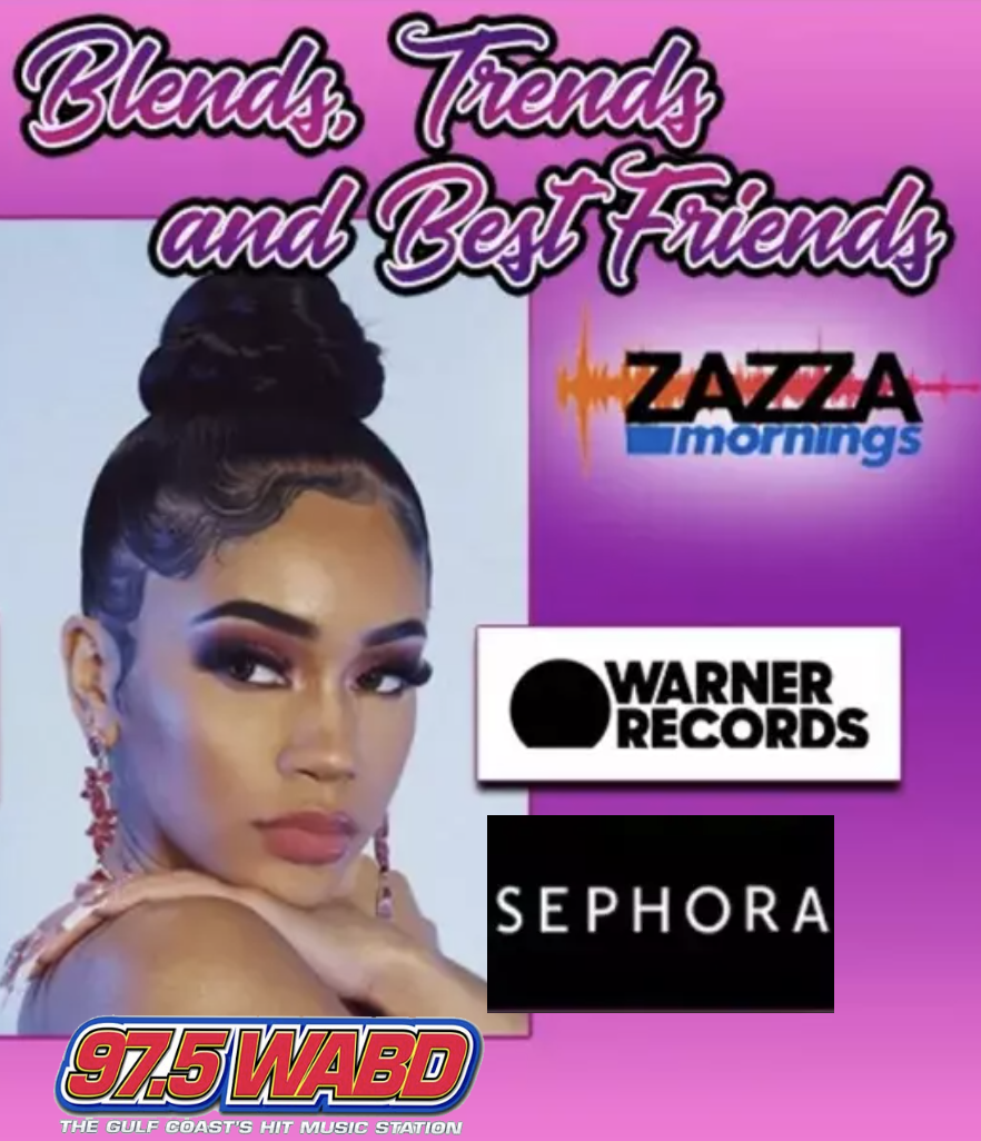 BLENDS, TRENDS & BEST FRIENDS ON ZAZZA MORNINGS!