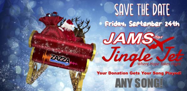 JAMS FOR JINGLE JET!