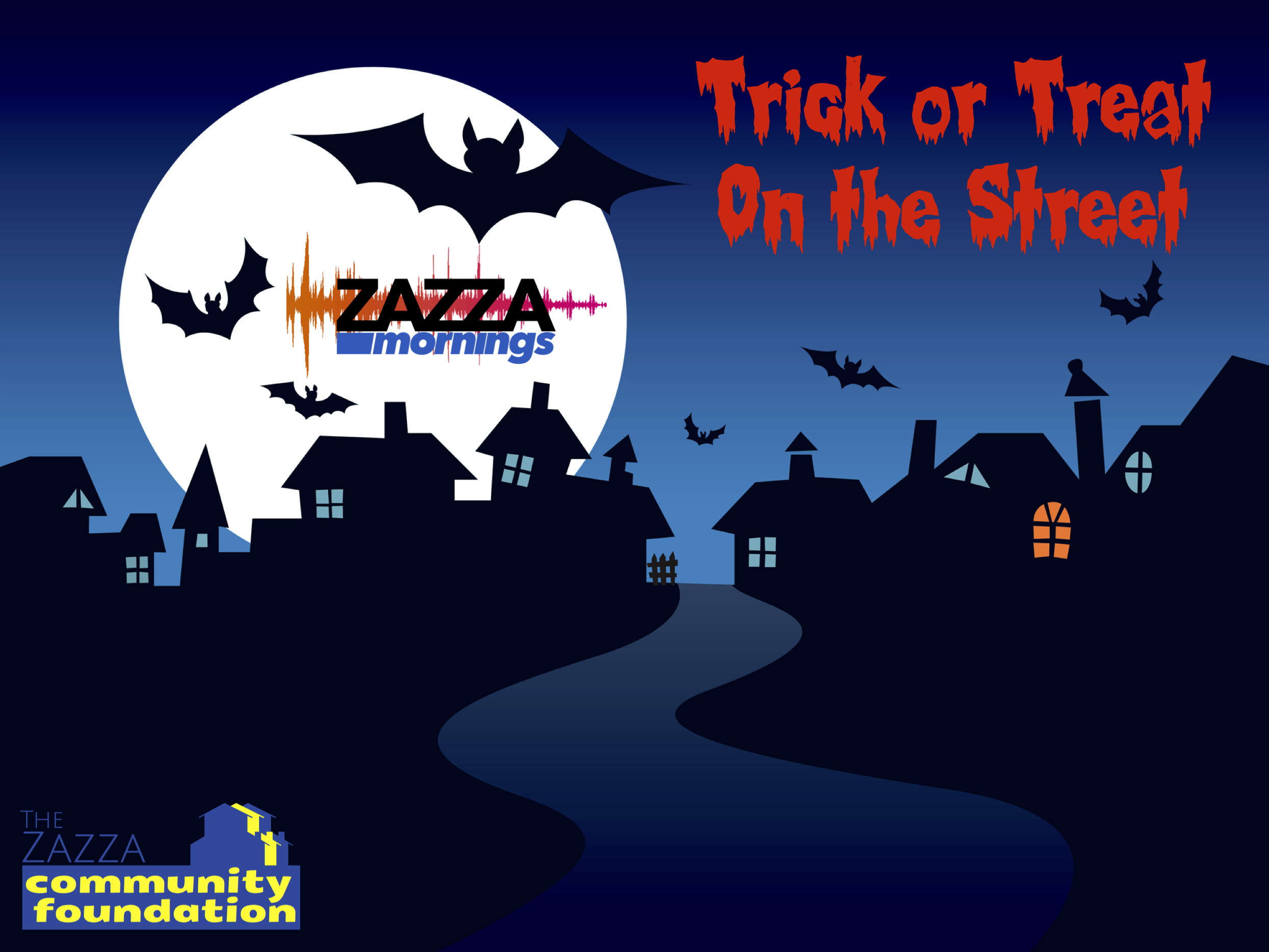 TRICK OR TREAT ON THE STREET!