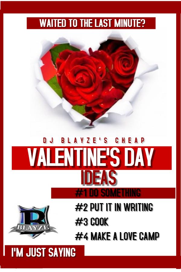 valentine idea blayze