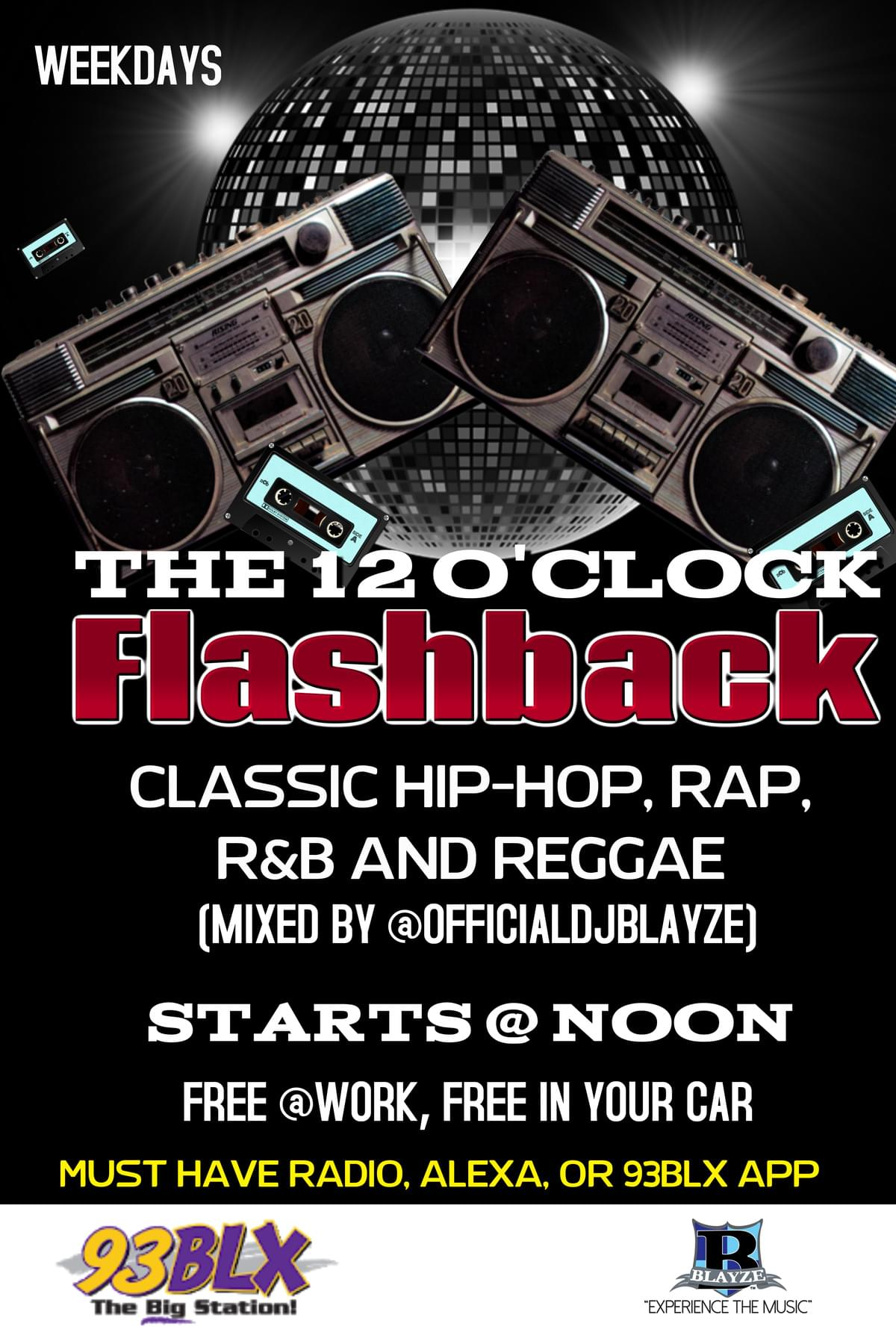 THE 12 O'CLOCK FLASHBACK