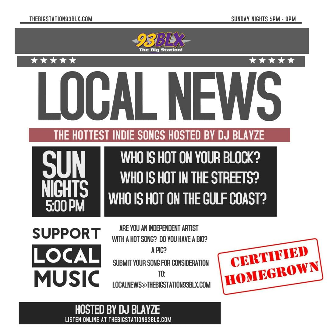IS YOUR SONG HOT ENOUGH TO MAKE LOCAL NEWS?