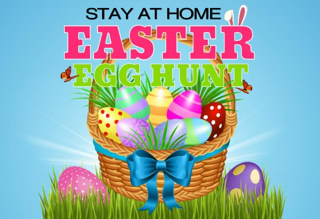 Stay At Home Easter Egg Hunt