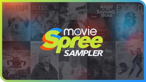 Wanna WIN a Digital Movie Spree Sampler?