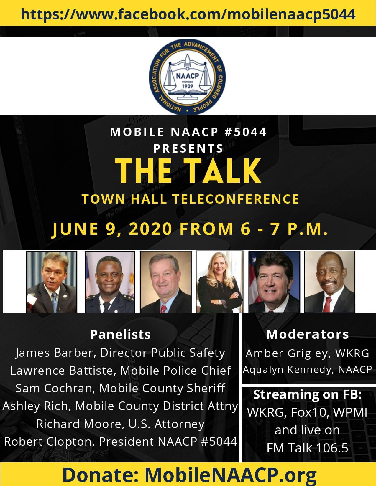 THE CITY OF MOBILE COMES TOGETHER TO TALK