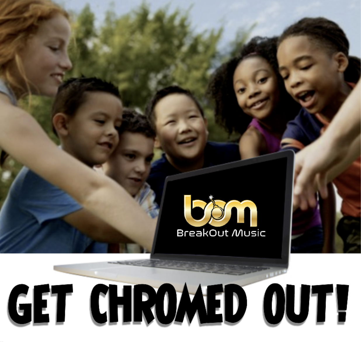 Wanna WIN a Chromebook? GET CHROMED OUT!