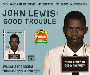 John Lewis: Good Trouble .. Wanna WIN your copy?