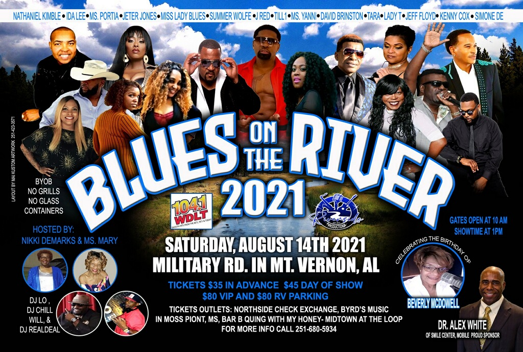 WIN BLUES ON THE RIVER TICKETS!