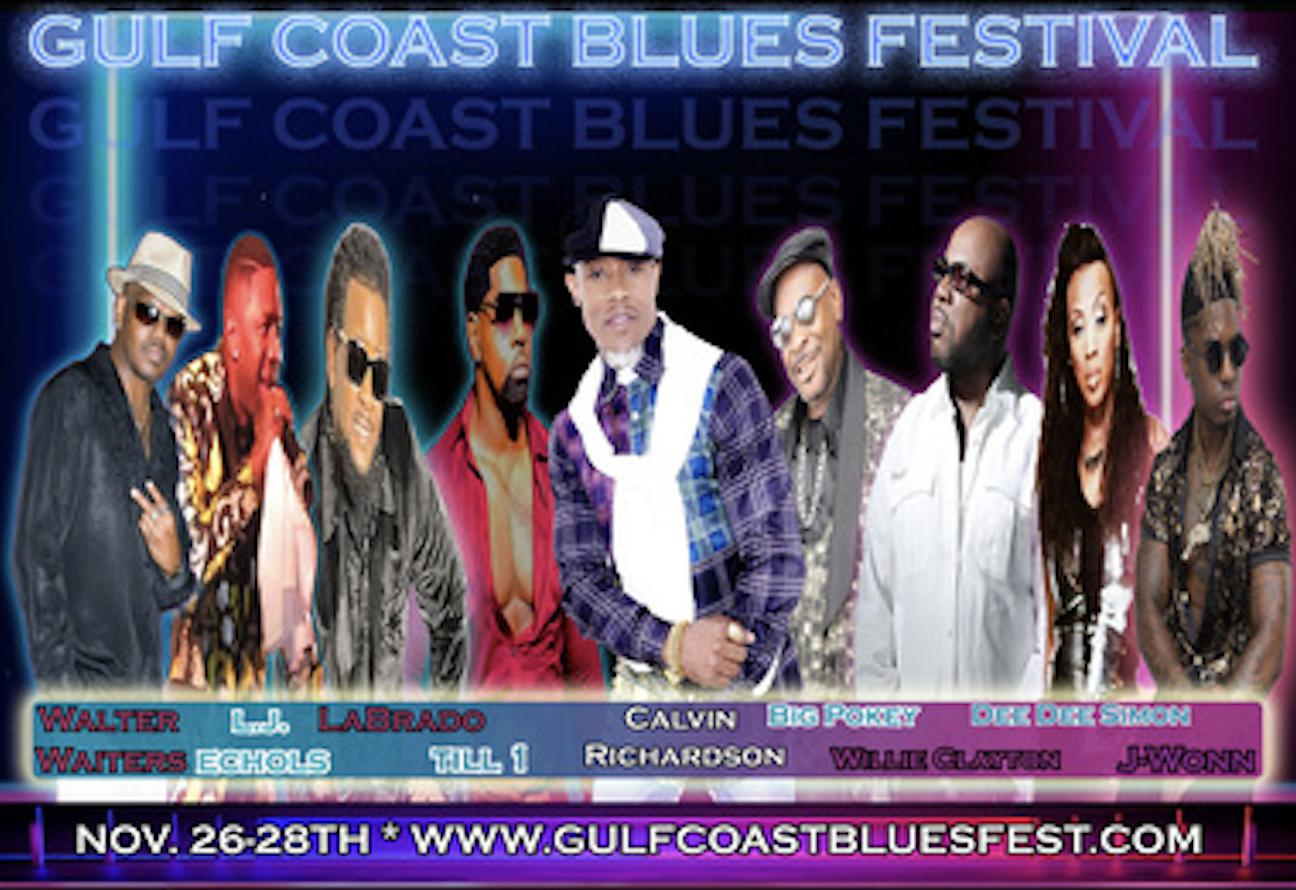 WIN TICKETS TO THE GULF COAST BLUES FESTIVAL!!!