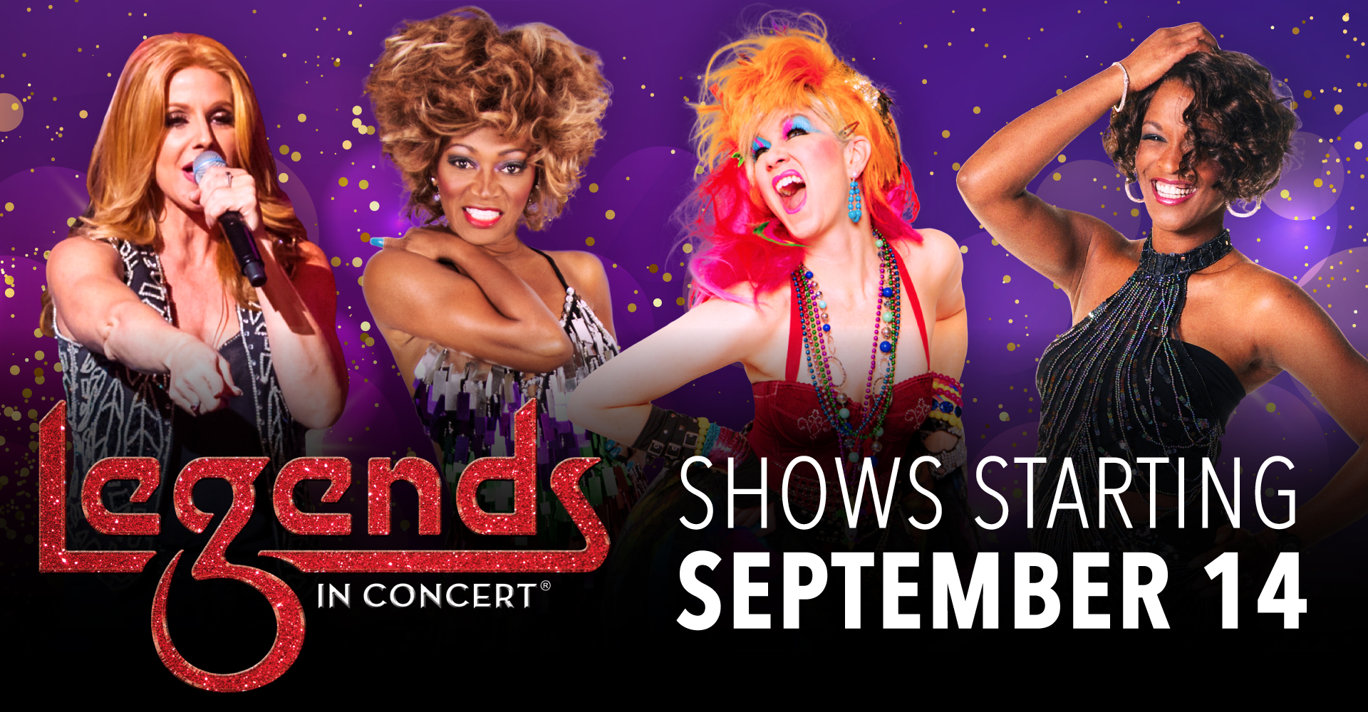 """WIN TICKETS TO """"LEGENDS IN CONCERT"""" AT OWA!"""
