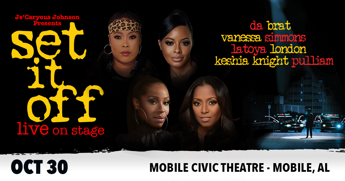 WIN TICKETS TO SET IT OFF!