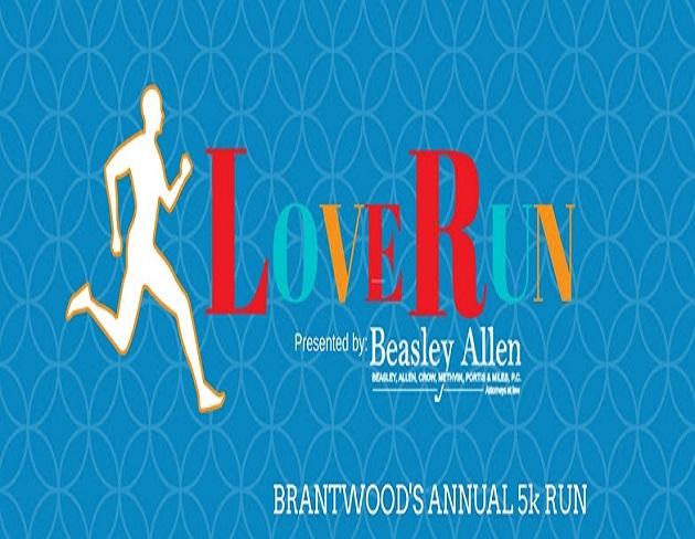 2018 Love Run 5K to Benefit Brantwood Children's Home