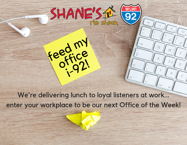 Win Free Lunch as Our Office of the Week