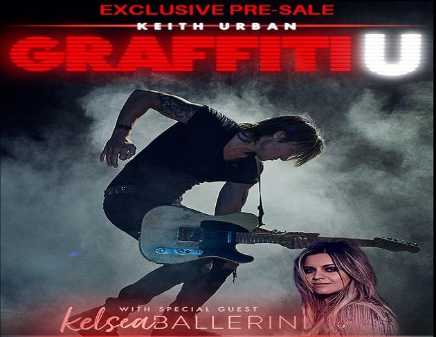 Exclusive: Pre-Sale Code for Keith Urban Concert Tickets