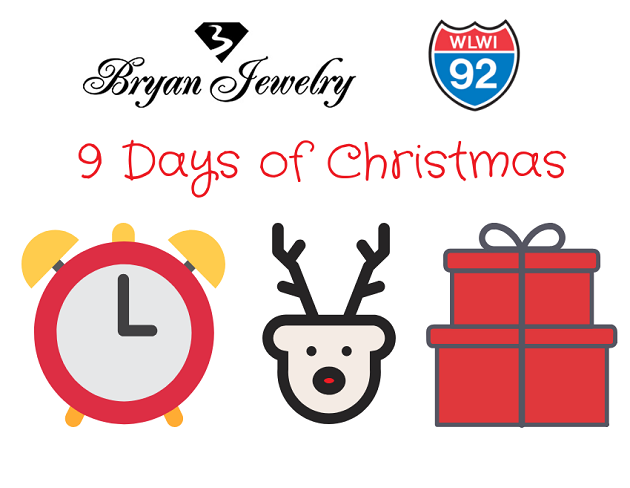 9 Days of Christmas with Bryan Jewelry and I-92