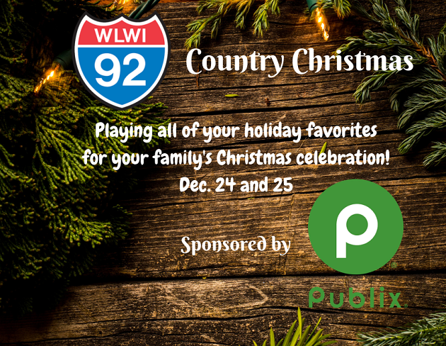 Celebrate with a Country Christmas in Montgomery on I-92 WLWI