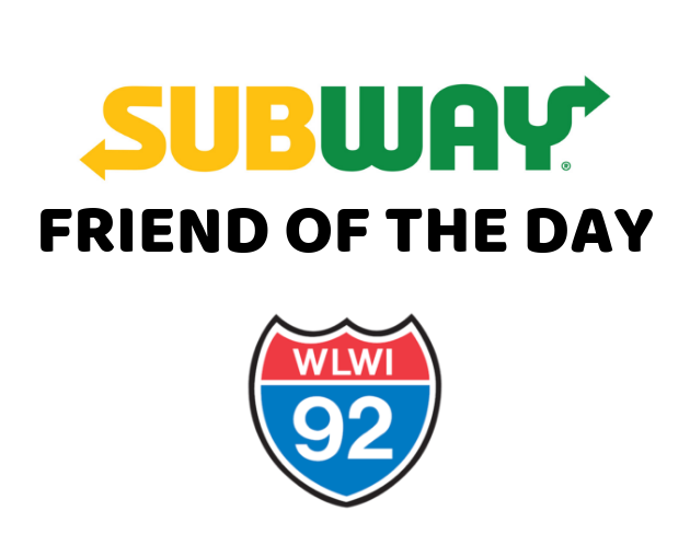 """Enter Your Name for """"Friend of the Day"""" to Win a Subway $25 Gift Card"""